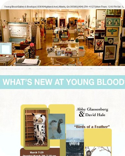 Young Blood Has a New Website