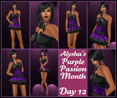 ALY'S PURPLE PASSION MONTH:  DAY 12