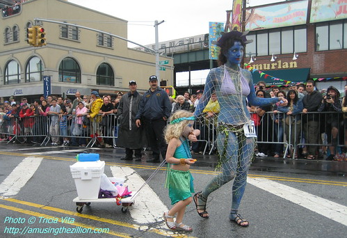 Mother & daughter mermaids (# 67). June 20, 2009. Photo © Tricia Vita/me-myself-i via flickr