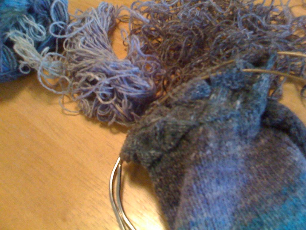 Entrelac socks 03