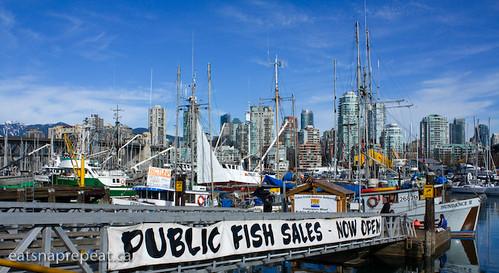 Granville Island Fisherman's Wharf