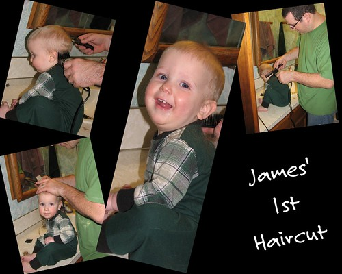 James' 1st Haircut