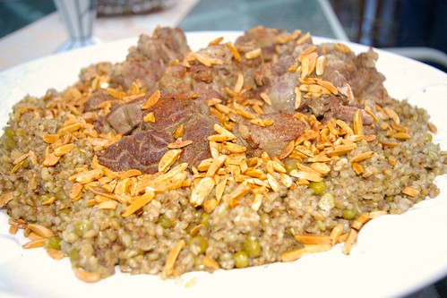Freekeh with Double Cooked Oxtail