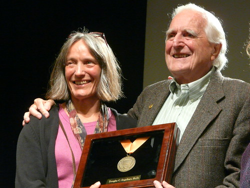 Christina and Doug Engelbart