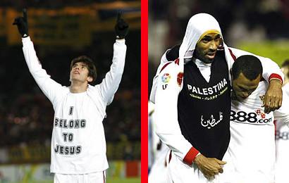 um no céu, outro na terra. Mas para a FIFA, igualmente pecadores.