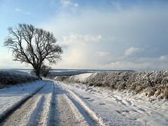 Ein kleiner Abstecher in die britische Schneelandschaft