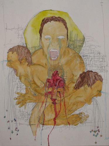 3 self portrait by tj schneider inspired by kevin devine brothers blood