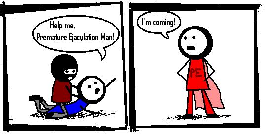 premature ejaculation man