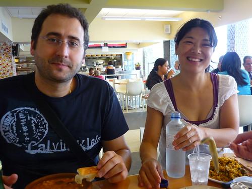 A Spanish lunch in San Juan