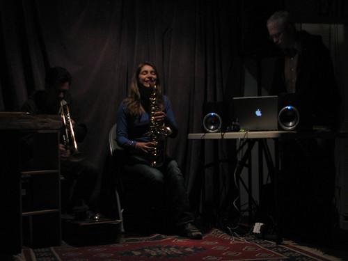 Gust Burns, Christine Sehnaoui, Doug Theriault Quartet