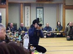 獅子舞~新聞社の取材
