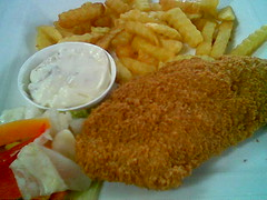 The Ark's fish and chips