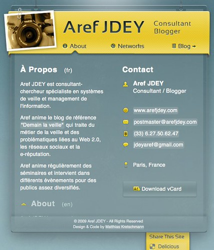 Aref JDEY • Consultant / Blogger by you.
