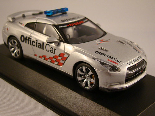 Kyosho Nissan Skyline R35 GTR Safety Car (4)