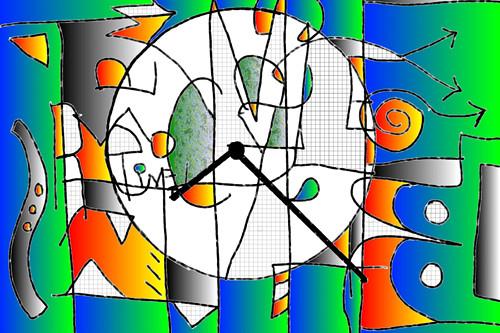 Recycle digital art (c) 2004, Lynne Medsker