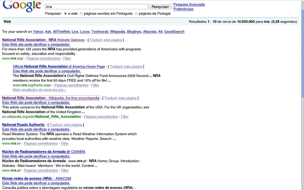 google.passado