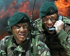 British Soldiers Under Fire