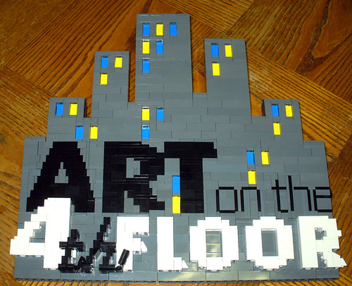 LEGO Art on 4th Floor Logo
