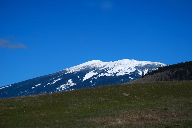 Baldy Mountain, March 26