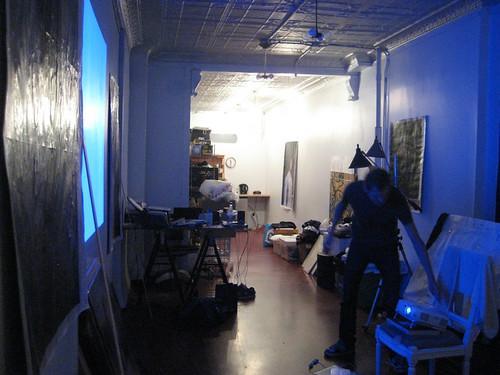visiting an artist studio in e. village