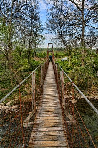 The Suspended Footbridge