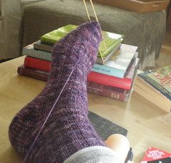 Garter Rib Sock