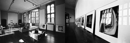 preparing the exhibit