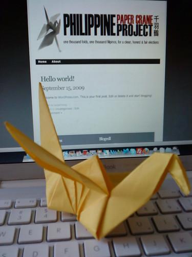 Philippine Paper Crane Project