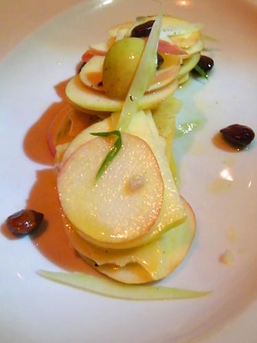 Heirloom Apple Salad at Firefly, MyLastBite.com