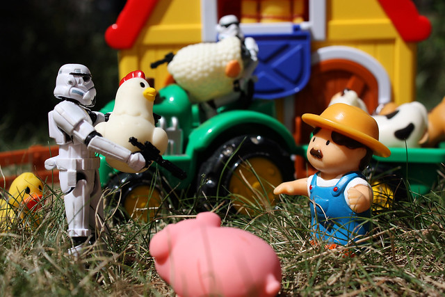 Imperial Requisition #2 - We're taking your farm, farmboy