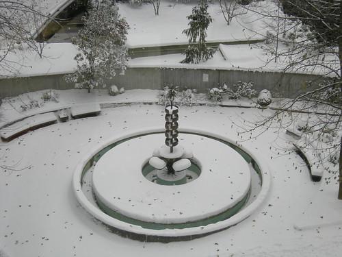 Naramore Fountain by George Tsutakawa