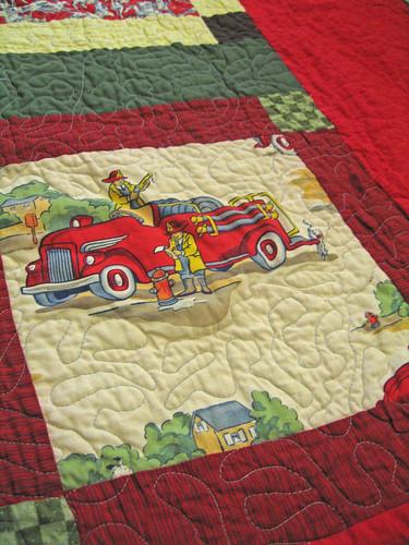 Fireman Quilt