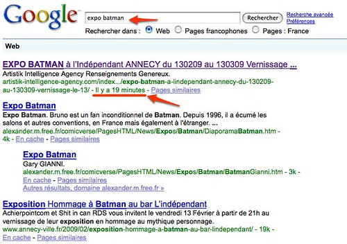 expo batman - Recherche Google by you.