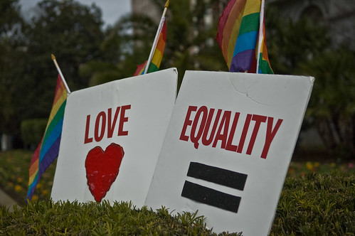 Love and Equality Rally by JaysterDotCom