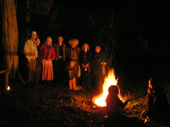 Tales and Trails 2009 by firelight