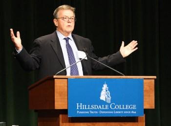 Peter Collier, Hillsdale College CCA Speaker