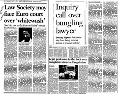 Scotsman coverage of some of the stories relating to Andrew Penman