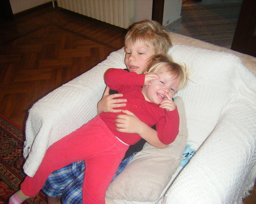 Owen Takes Care of His Little Sister