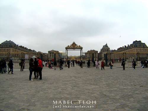 Versailles, former home of the French royal family, and now a musuem, tourist attraction and seat of political power