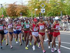 Frauen Marathon Leichtathletik WM 2009 in Berlin