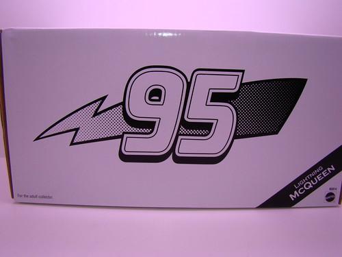 CARS Matty Collector  Lightning McQueen (4)