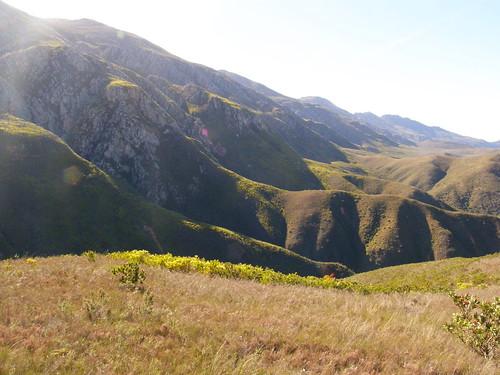 Montañas cerca de Robertson