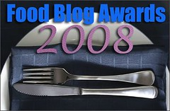 Vote in the Food Blog Awards 2008