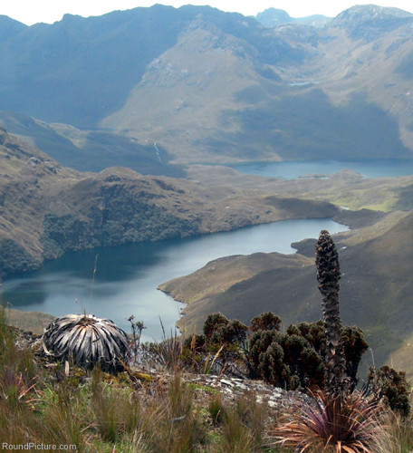 Ecuador - Parque Nacional Cajas - View from the Mast