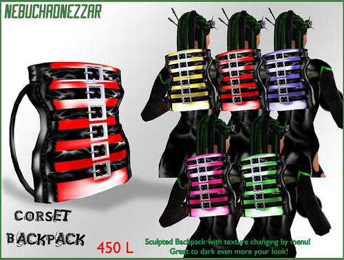 NDN - Corset Backpack