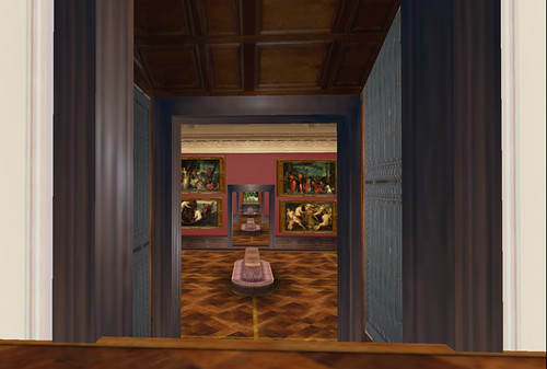 Inside the Dresden Gallery