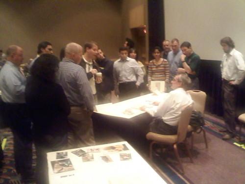 Tufte holding office hours at Atlanta seminar