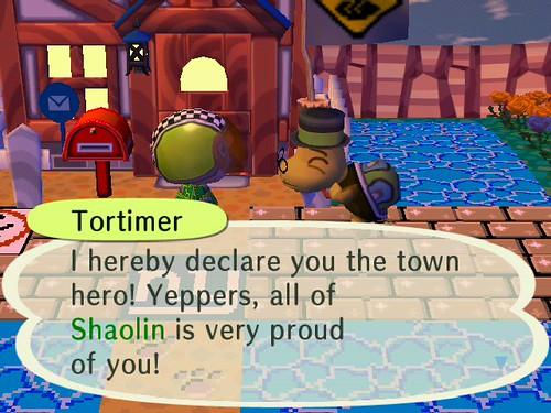 Town Hero!