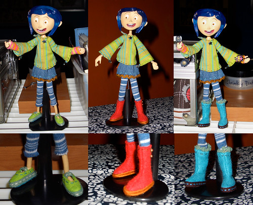 Coraline's New outfits