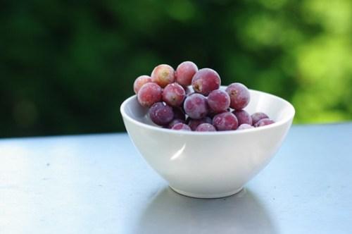 Frozen Grapes...